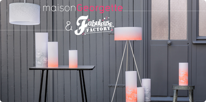 maisonGeorgette lighting x Fabuleuse Factory