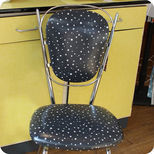 60's kitchen chairs stars