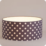 Drum fabric lamp shade / pendant shade Snow