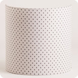 Fabric half lamp shade for wall light Pearl stars