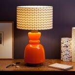 Drum fabric lamp shade / pendant shade Pythagore