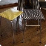 60's kitchen stool