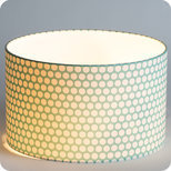 Drum fabric lamp shade / pendant shade Glacier