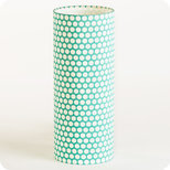 Cylinder fabric table lamp Glacier