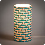 Cylinder fabric table lamp Georges et Rosalie Trafic