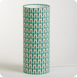 Cylinder fabric table lamp Chrysler