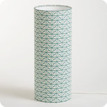 Cylinder fabric table lamp Gatsby