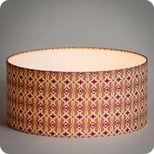 Drum fabric lamp shade / pendant shade Mlle Baker
