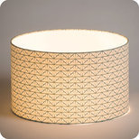 Drum fabric lamp shade / pendant shade Gatsby