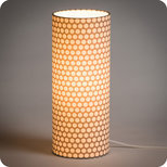Cylinder fabric table lamp Osmose
