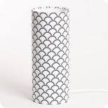 Cylinder fabric table lamp Haro