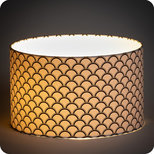 Drum fabric lamp shade / pendant shade Haro