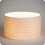 Drum fabric lamp shade / pendant shade Osmose