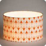 Drum fabric lamp shade / pendant shade Tangente