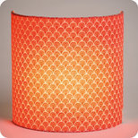 Fabric half lamp shade for wall light Koraru