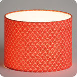 Drum fabric lamp shade / pendant shade Koraru