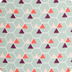 Hexagone fabric