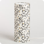 Cylinder fabric table lamp Twist