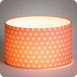 Drum fabric lamp shade / pendant shade Ozora pink
