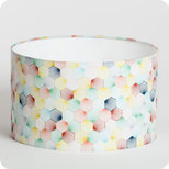 Drum fabric lamp shade / pendant shade Kaleidoscope