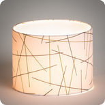 Drum fabric lamp shade / pendant shade Mikado