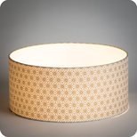 Drum fabric lamp shade / pendant shade Hoshi or