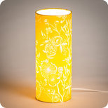 Cylinder fabric table lamp Simone
