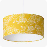 Drum fabric lamp shade / pendant shade Simone
