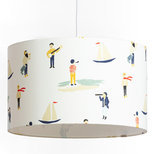 Drum fabric lamp shade / pendant shade Luxembourg