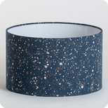 Drum fabric lamp shade / pendant shade Terrazzo night