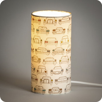 Cylinder fabric table lamp Cab
