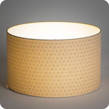 Drum fabric lamp shade / pendant shade Mini Hoshi