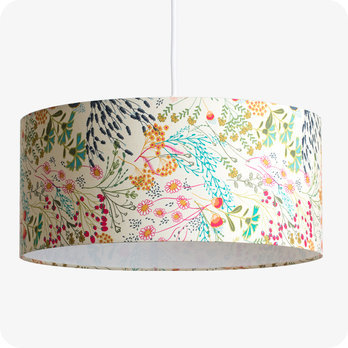 Drum fabric lamp shade / pendant shade Symphonie