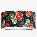 Drum fabric lamp shade / pendant shade Botan
