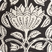 Lotus black fabric