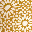 Drum fabric pendant shade Sun yellow Ø30