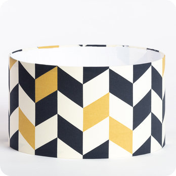 Drum fabric lamp shade / pendant shade Modernist
