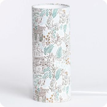 Cylinder fabric table lamp Dream