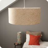 Drum fabric lamp shade / pendant shade Goldie
