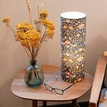 Cylinder fabric table lamp Lodden Morris&co.