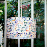 Drum fabric lamp shade / pendant shade Wild