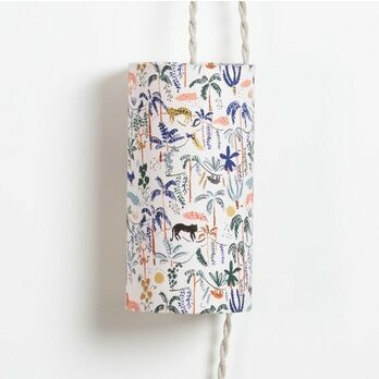 Fabric Plug-in pendant lamp Wild