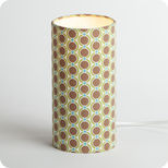 Cylinder fabric table lamp Summer 70