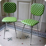 60's kitchen chairs
