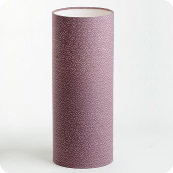 Cylinder fabric table lamp Yoake M