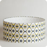 Drum fabric lamp shade / pendant shade Groovy