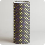 Cylinder fabric table lamp Grain d'avoine