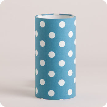 Cylinder fabric table lamp Lagoon S