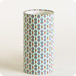 Cylinder fabric table lamp July 73