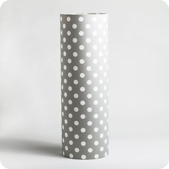 Cylinder fabric table lamp Minérale XXL
